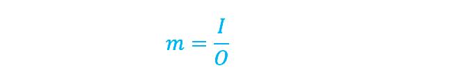 formula de la magnificación en fotografía macro