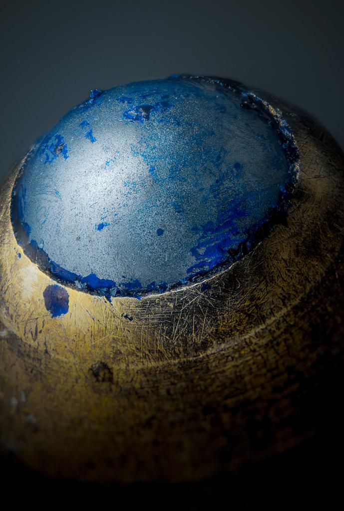 fotografía de la punta de un boli
