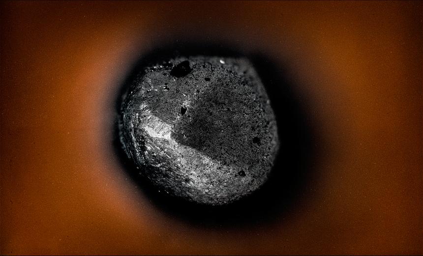 punta de lápiz macrofotografía
